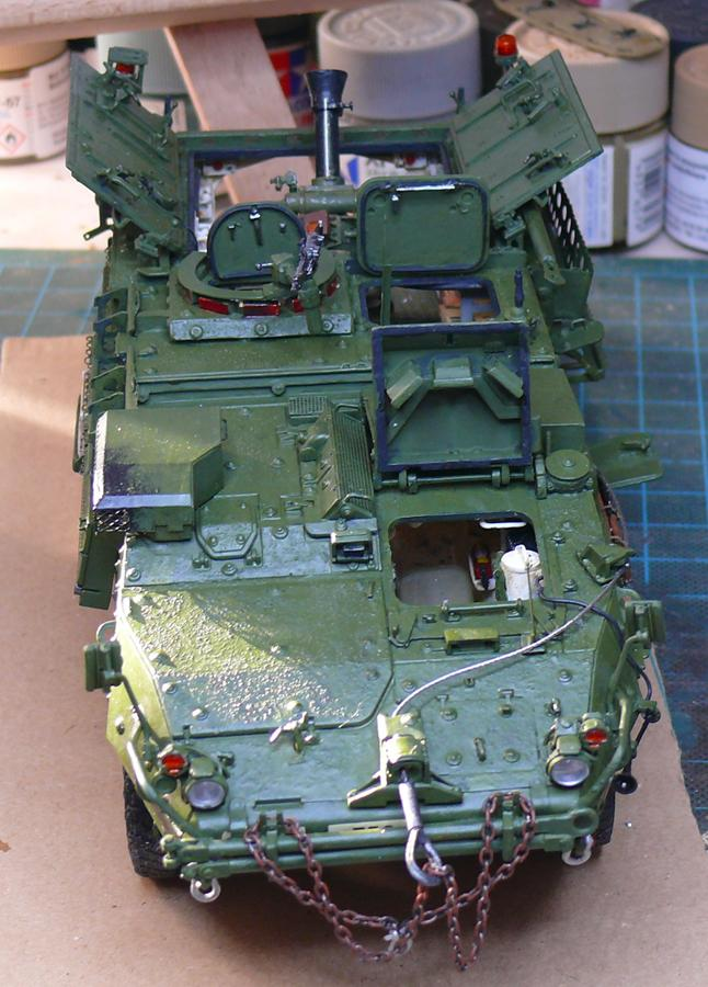 STRYKER M1129 MORTAR CARRIER VEHICLE de TRUMPETER au 1/35 - Page 6 Photo226
