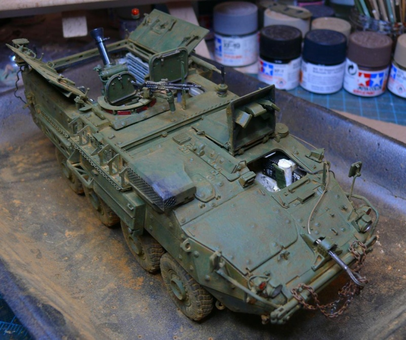STRYKER M1129 MORTAR CARRIER VEHICLE de TRUMPETER au 1/35 - Page 6 Photo227