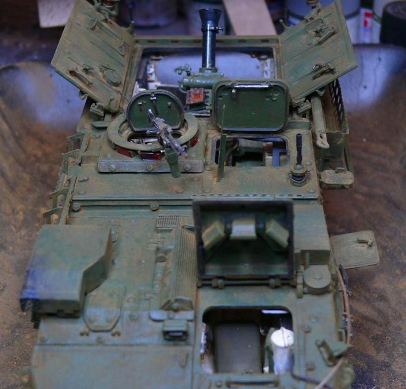 STRYKER M1129 MORTAR CARRIER VEHICLE de TRUMPETER au 1/35 - Page 6 Photo229