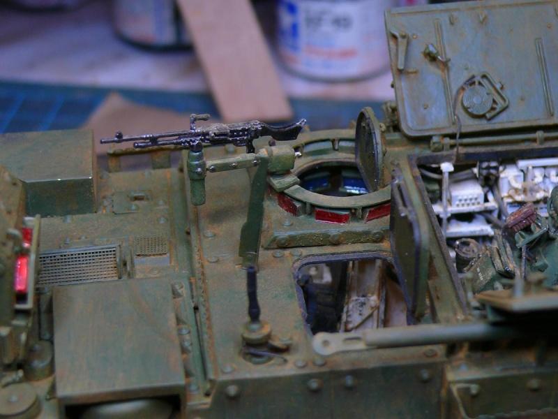 STRYKER M1129 MORTAR CARRIER VEHICLE de TRUMPETER au 1/35 - Page 6 Photo234