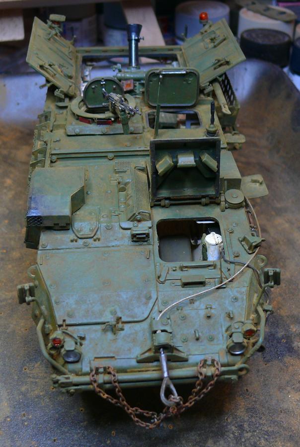 STRYKER M1129 MORTAR CARRIER VEHICLE de TRUMPETER au 1/35 - Page 6 Photo324