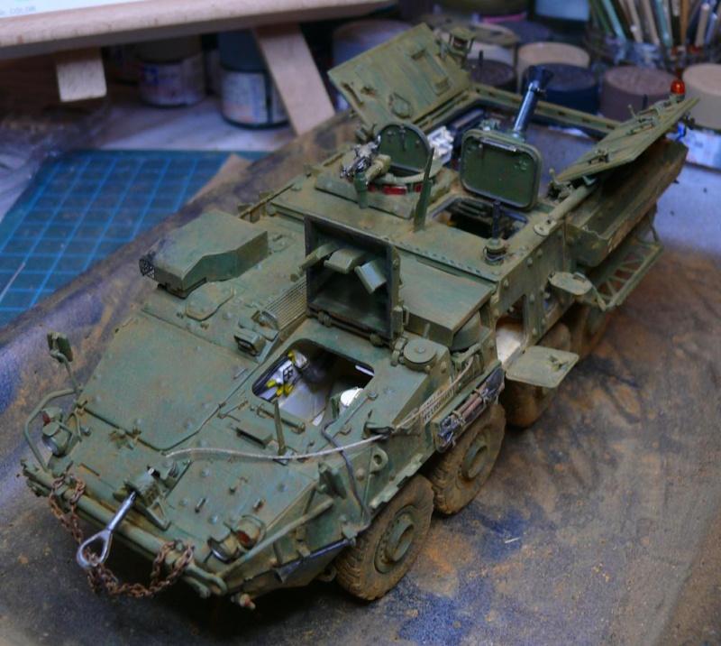 STRYKER M1129 MORTAR CARRIER VEHICLE de TRUMPETER au 1/35 - Page 6 Photo426