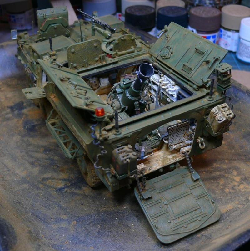 STRYKER M1129 MORTAR CARRIER VEHICLE de TRUMPETER au 1/35 - Page 6 Photo616