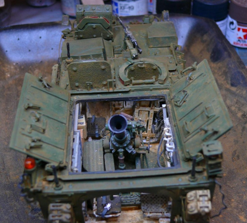 STRYKER M1129 MORTAR CARRIER VEHICLE de TRUMPETER au 1/35 - Page 6 Photo816
