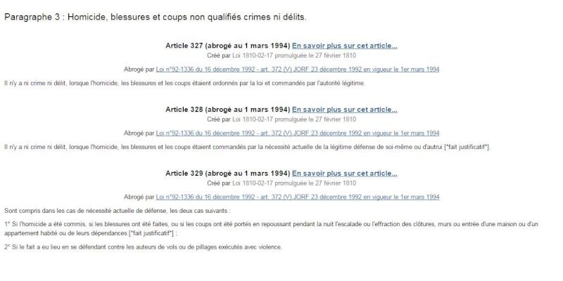 La loi sur les fusils avertisseur-piège au 19ème siècle en France  Articl10