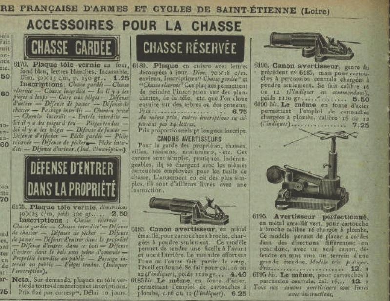 La loi sur les fusils avertisseur-piège au 19ème siècle en France  Piyges10