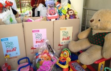 Το Σάββατο 6 Δεκεμβρίου, συγκεντρώνουμε παιχνίδια και ρούχα για παιδιά που έχουν ανάγκη Ttfm14
