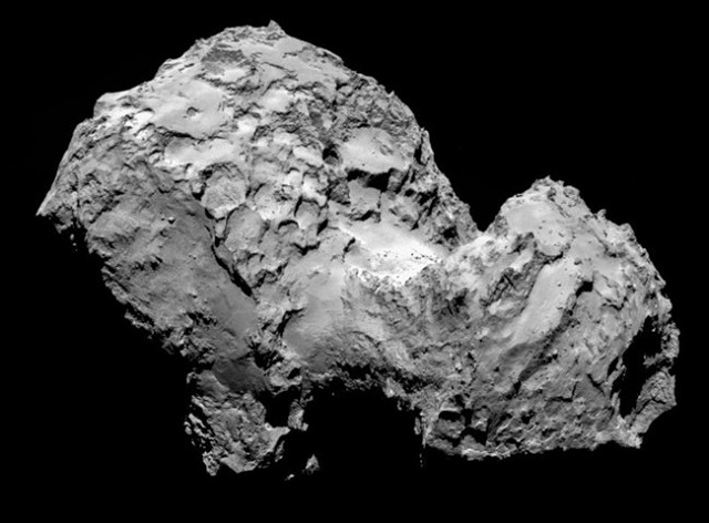 Comet Churyumov-Gerasimenko Co67p10