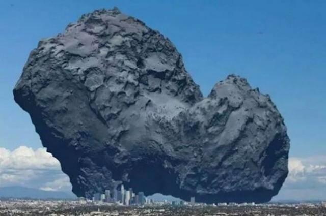 Comet Churyumov-Gerasimenko Comet10