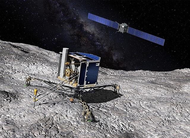 Comet Churyumov-Gerasimenko Philae10