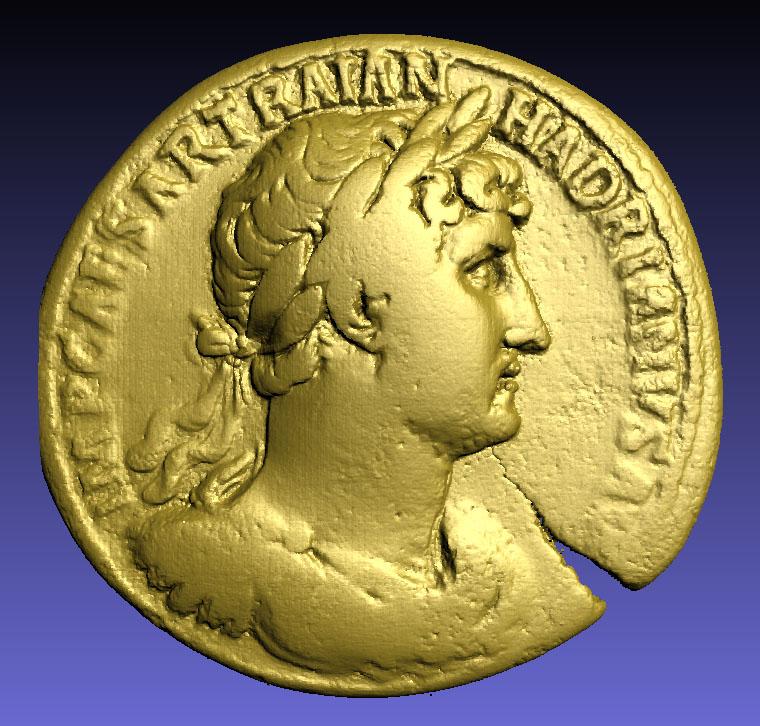 Des monnaies en 3D ! Hadrie11