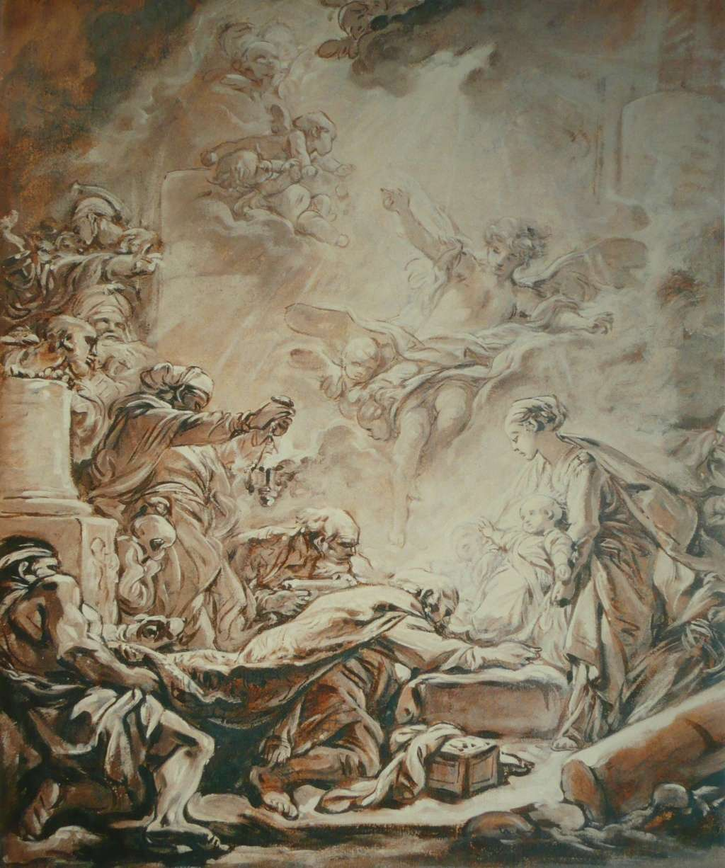 Les peintures religieuses de François Boucher Adorat10