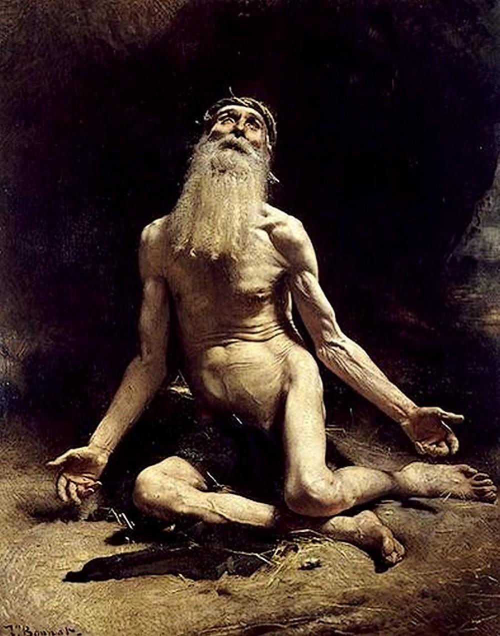 Les peintures religieuses de Léon Bonnat Job_1810