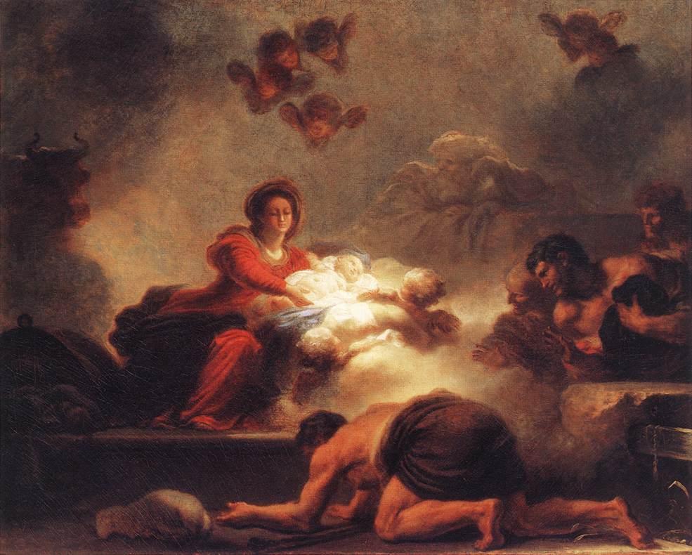Les peintures religieuses de Jean-Honoré Fragonard L_ador10