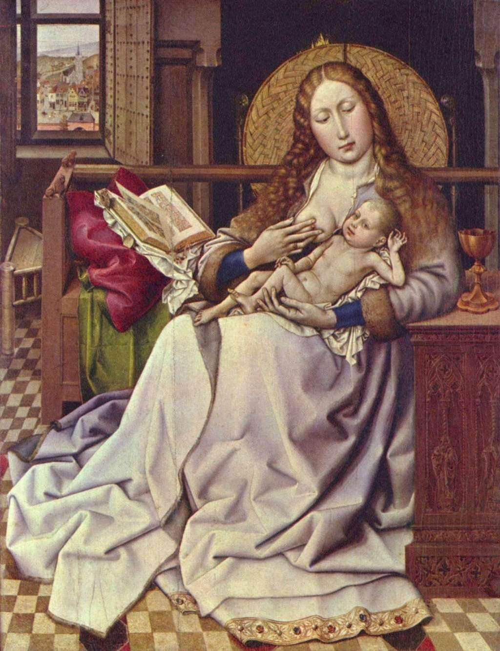 Les peintures religieuses de Robert Campin La_vie11