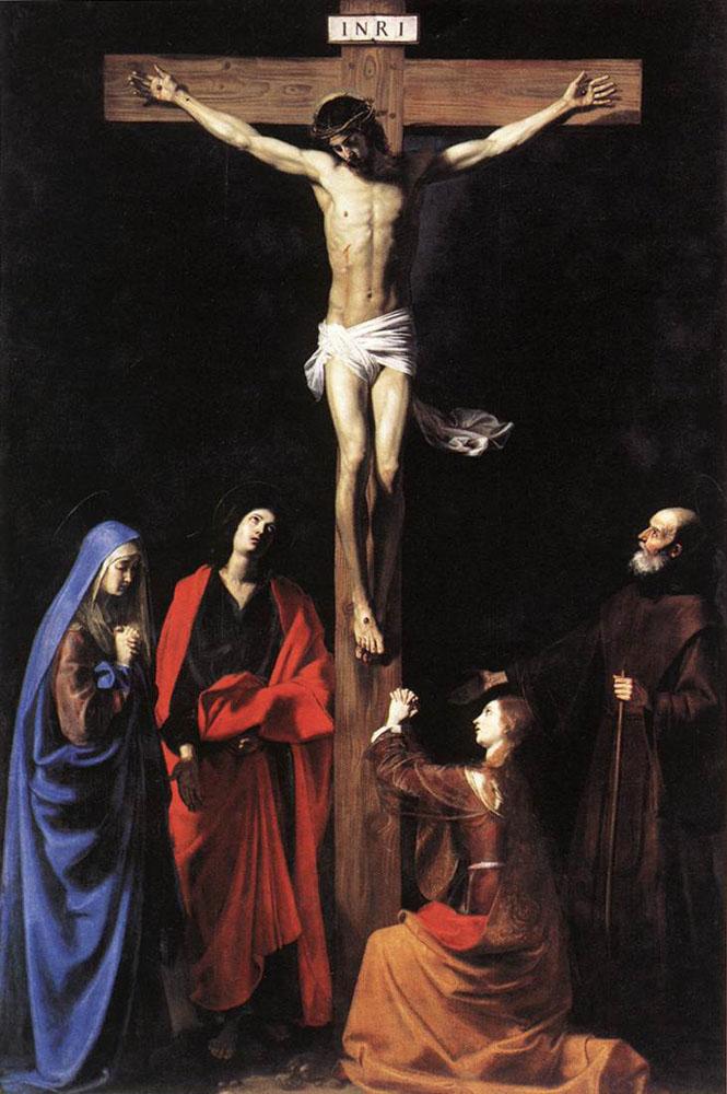 Les peintures religieuses de Nicolas Tournier Le_chr11