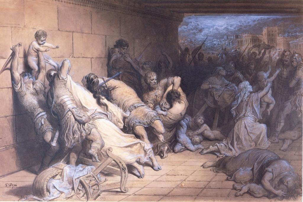 La Bible illustrée par Gustave Doré - Page 10 Le_mar11
