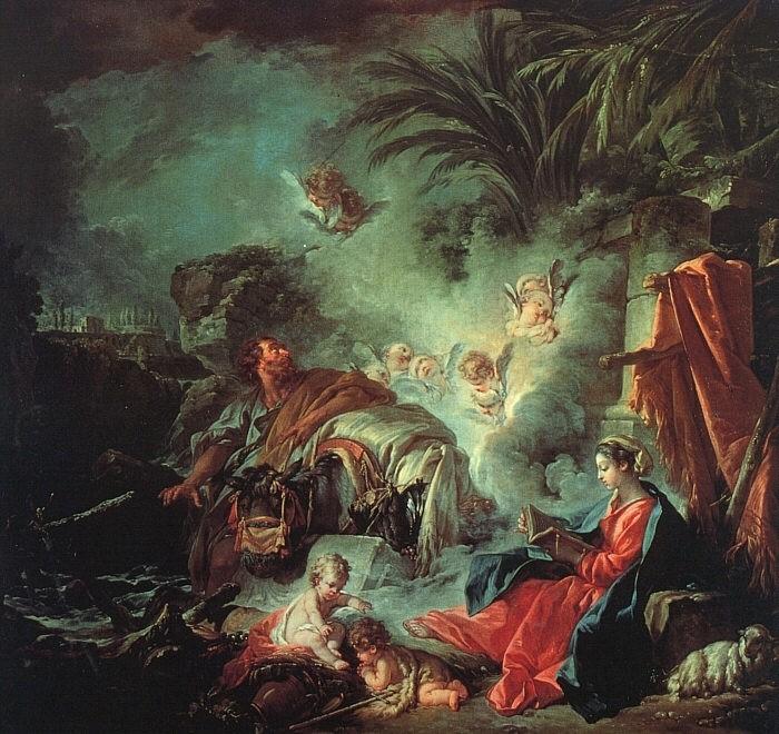 Les peintures religieuses de François Boucher Le_rep10