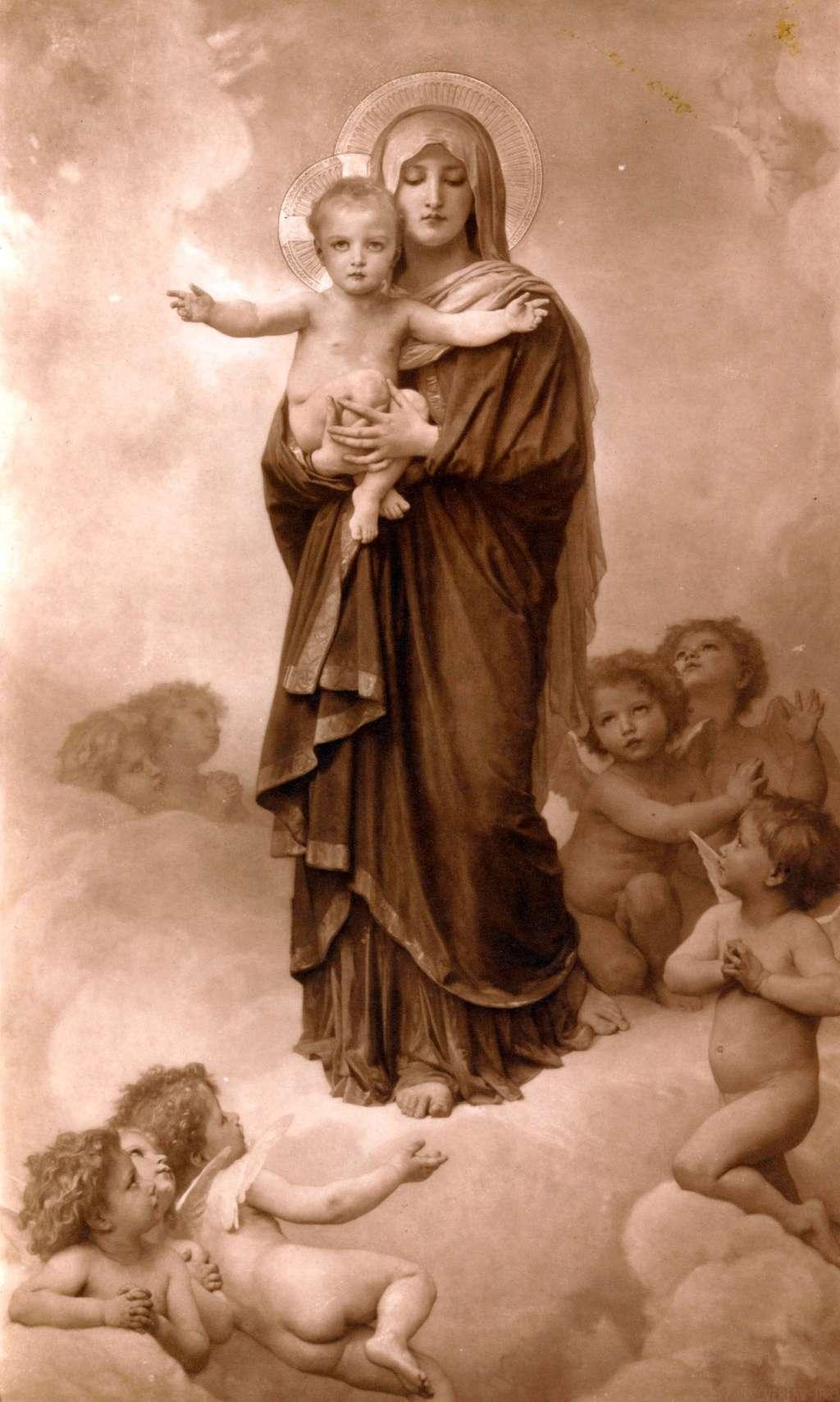 William Bouguereau et la Religion - Page 2 Notre-10