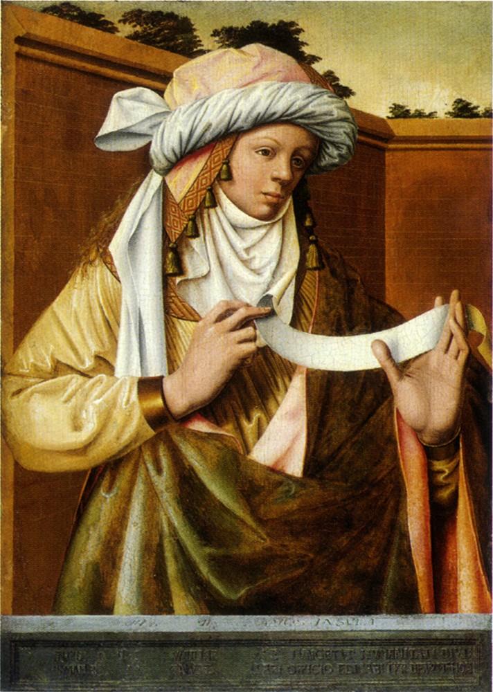 Les peintures religieuses de Robert Campin Sybill10