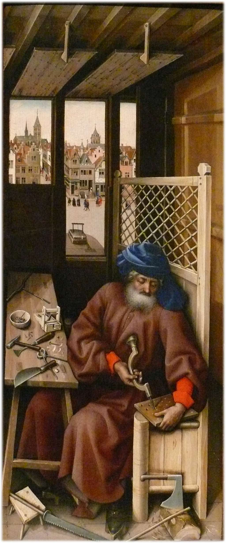 Les peintures religieuses de Robert Campin Tripty10