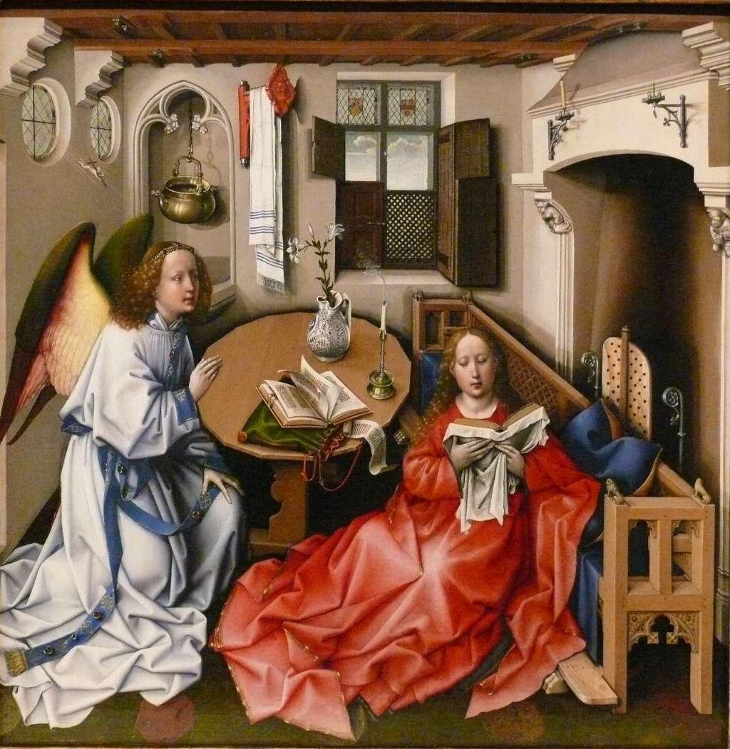 Les peintures religieuses de Robert Campin Tripty11