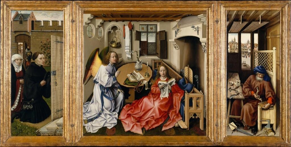 Les peintures religieuses de Robert Campin Tripty13