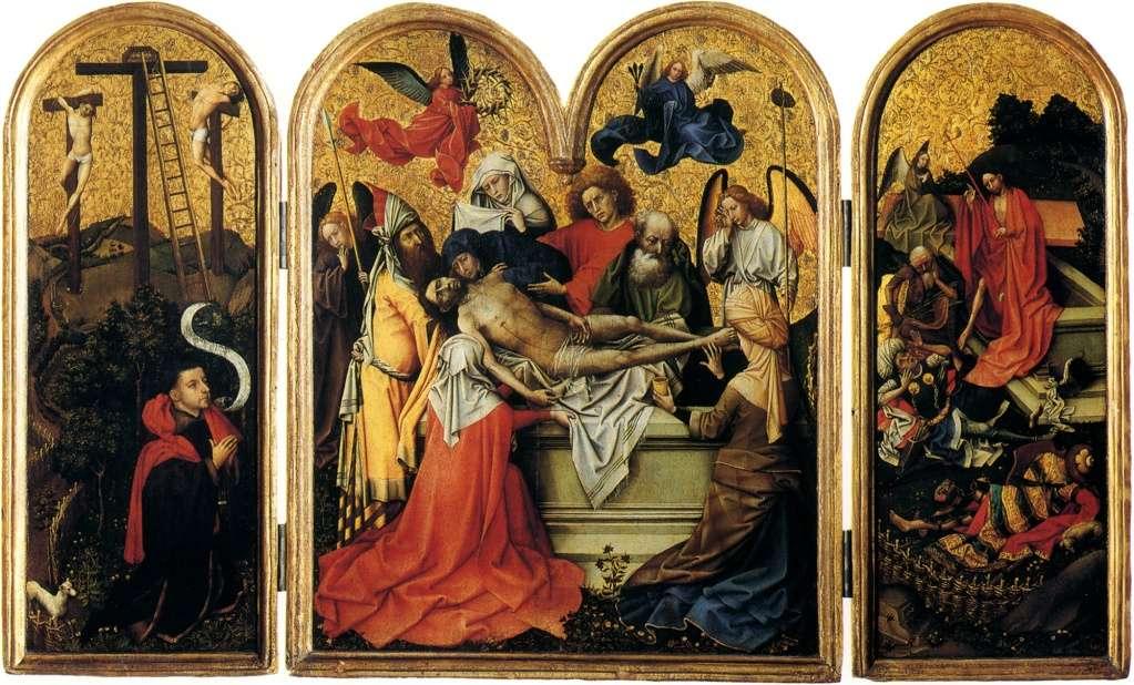 Les peintures religieuses de Robert Campin Tripty14