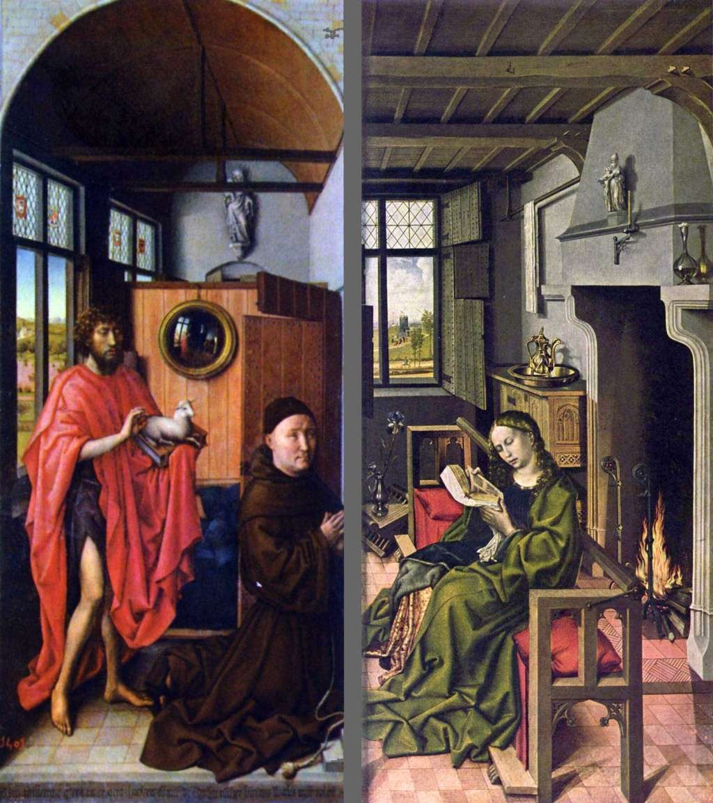 Les peintures religieuses de Robert Campin Tripty17
