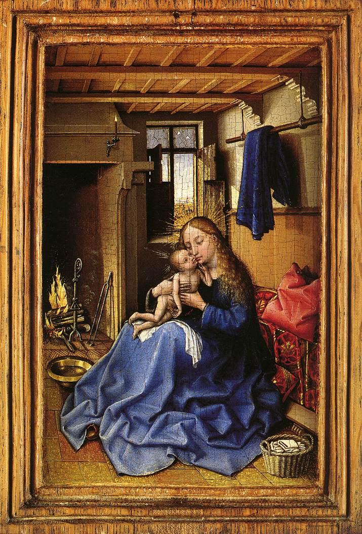 Les peintures religieuses de Robert Campin - Page 2 Vierge11