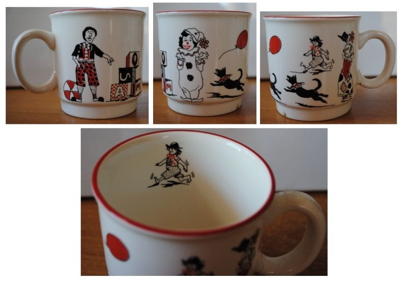 Just Kids Mugs - Set of three Clown12