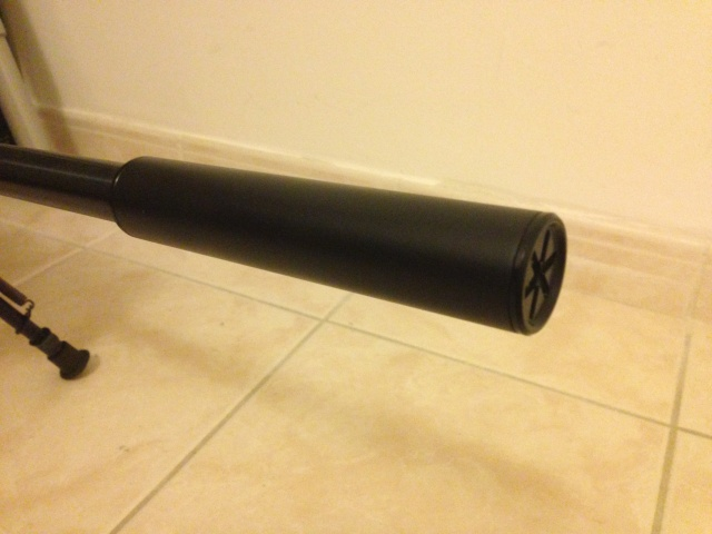Sako Quad Heavy Barrel Silenc12