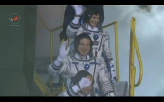 Vol spatial de Samantha Cristoforetti / Expedition 42 et 43 - FUTURA / Soyouz TMA-15M 10321010