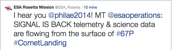 Rosetta - Réveil de la sonde / Mission / Atterrissage de Philae - Page 3 10801610