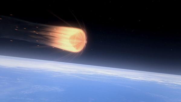ORION EFT-1 /Premier vol  spatial (5 décembre 2014) - Page 2 Burn_o11