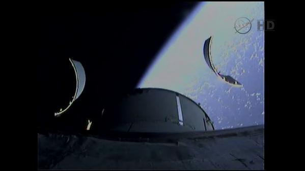 ORION EFT-1 /Premier vol  spatial (5 décembre 2014) Ejecti10