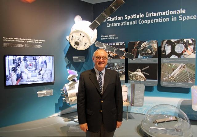 ESA - Le successeur du Directeur Général Jean-Jacques Dordain sera annoncé le 18 décembre prochain Img_8910