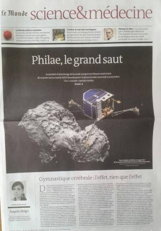 Rosetta - Réveil de la sonde / Mission / Atterrissage de Philae - Page 2 Le_mon11