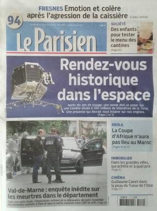 Rosetta - Réveil de la sonde / Mission / Atterrissage de Philae - Page 2 Parisi10