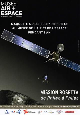 [Exposition] Rosetta - de Philae à Philea - Musée de l'Air et de l'Espace au Bourget Philea10