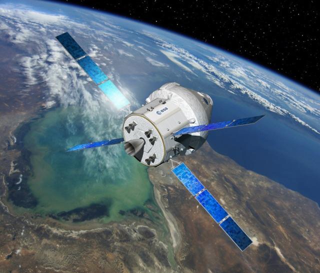 Orion MPCV - Signature du contrat industriel entre Airbus Defence and Space et l' ESA Secure10