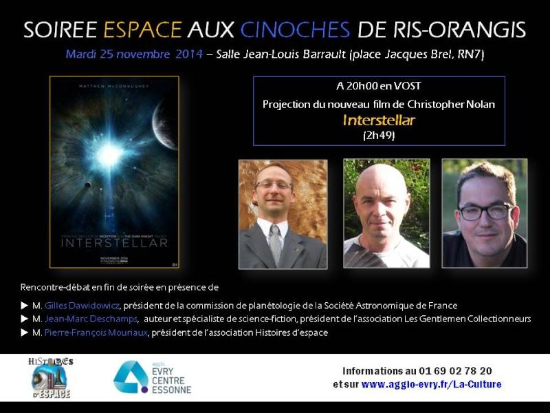 INTERSTELLAR / Ciné-débat à Ris-Orangis ( 91 ) / 25 novembre 2014 Secure12
