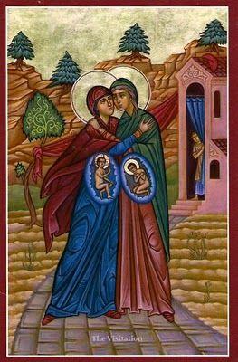 Benoît XVI nous parle de la Visitation de Marie Visita10