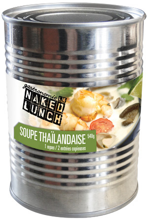 Soupe thaïlandaise au gingembre et lait de coco (Tom Khaa) Soupe_10