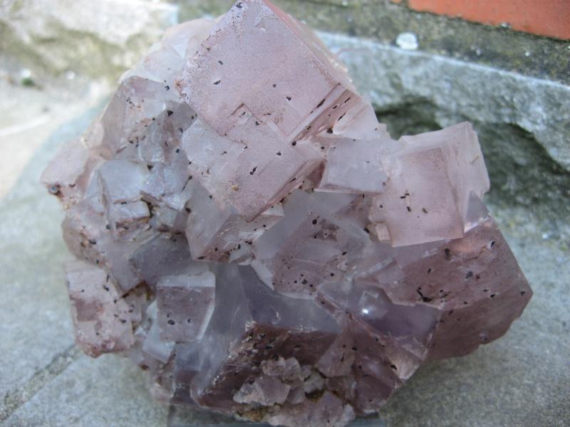 Différentes fluorites de la mine CLARA 00212