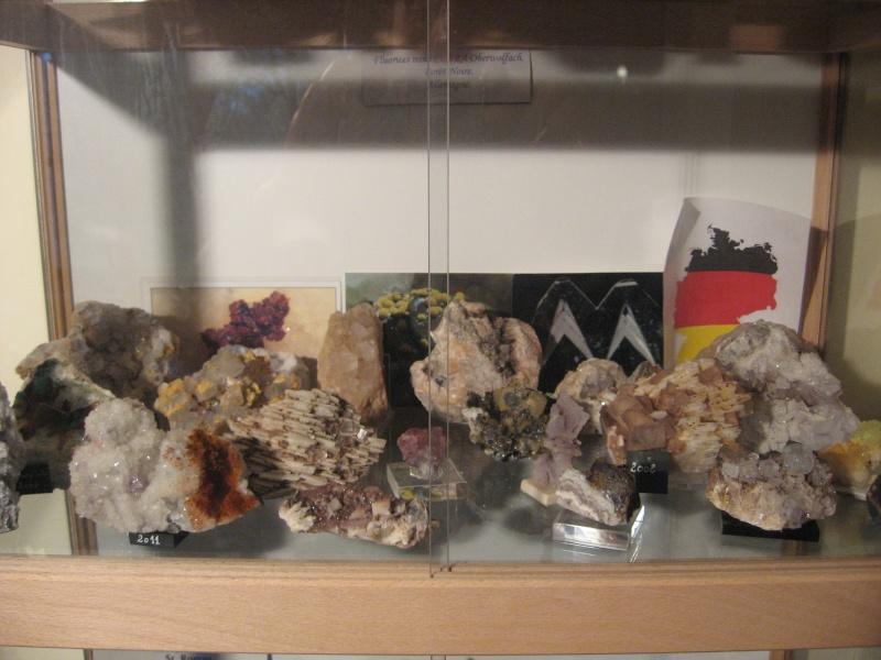 Différentes fluorites de la mine CLARA 00312