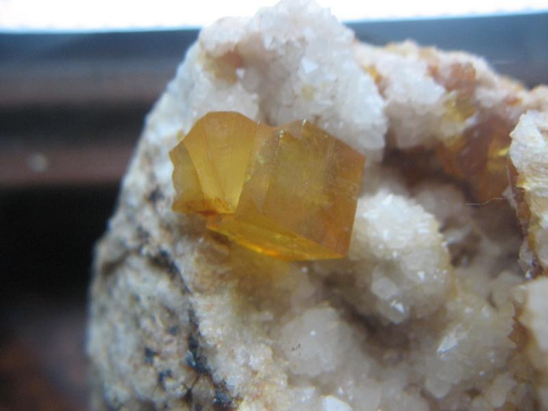 Différentes fluorites de la mine CLARA 00811