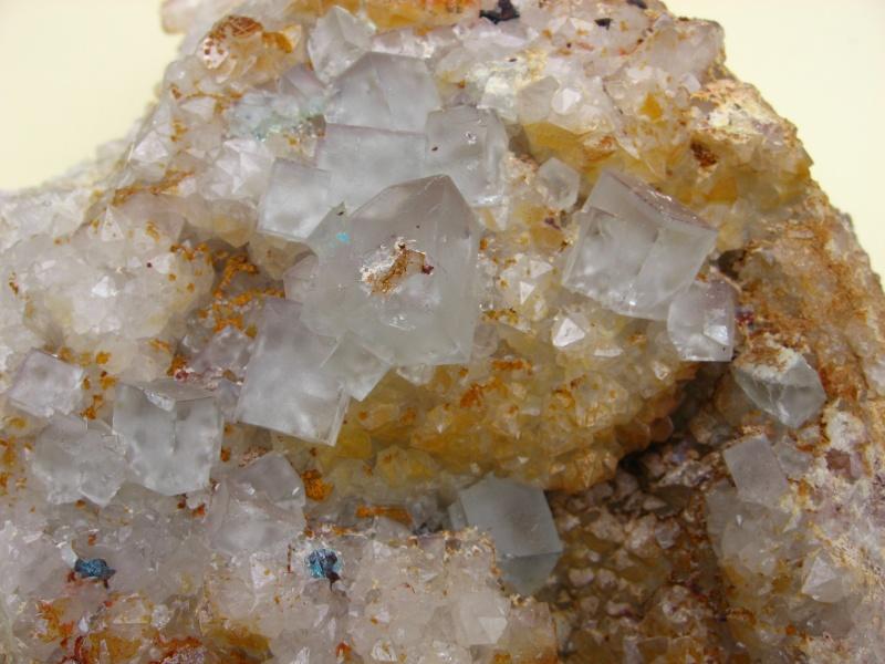Différentes fluorites de la mine CLARA 01214