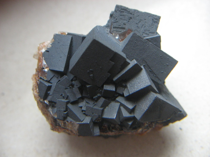 Différentes fluorites de la mine CLARA 01316