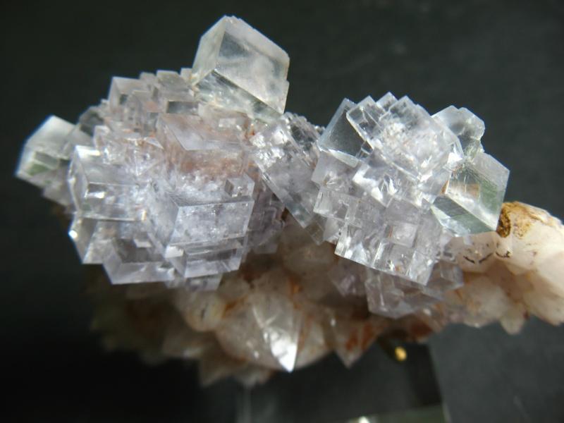 Différentes fluorites de la mine CLARA 01510